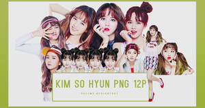 Kim So Hyun peripera 12P PNG by vul3m3