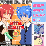 [Free DL ZIP] Little Assassin 02 by WaCorori