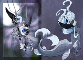 Character design contest entry: Koi Key by HiSS-Graphics