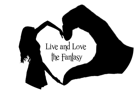 Live and Love the Fantasy Logo by cewilson5