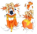 October Special: Kamitsune #25: Candy Corn Kitten by Tsuzukikun