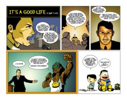 It's a Good Life 11.06.10 by ninjaink
