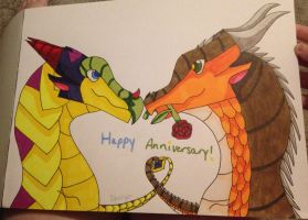 Happy Anniversary to My Parents! by FlamingGatorGirl