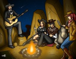 Campfire Song by geekling