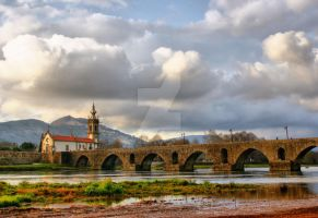 Ponte de lima bridge by vmribeiro