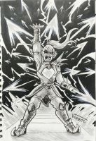Undyne the Undying by Veguito2b