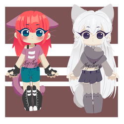 Summer/Winter Kittens Adopt [Point] CLOSED by Mary-Maru