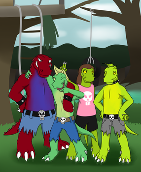 The Bog Bros Gang! by AxlReigns
