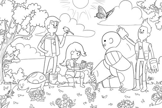 Coloring Book Project on Charity-Guild - DeviantArt