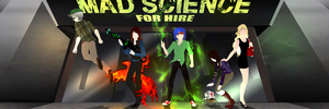 Mad Science For Hire by ensoul