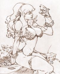 Red Sonja by CREONfr