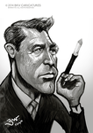 Cary Grant Caricature by libran005