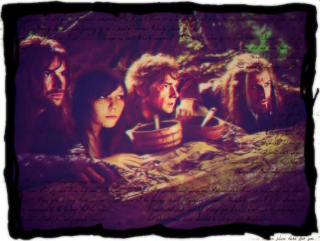 in the company of dwarves and hobbits by Venus-Mike-Adel-Leo
