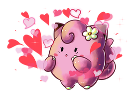 :Clefairy: Attract by MeguBunnii