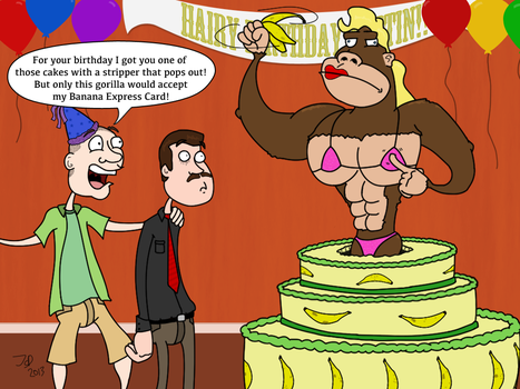 Hairy Birthday by pumkincheesemullet