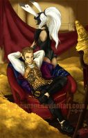 FFXII: Balthier and Fran by redpennant