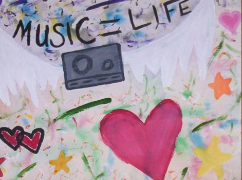 Music equals Life by FloYdMaChiNE