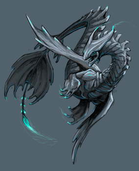 Water Dragon by is-chimera