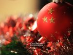 a red Christmas by prigix