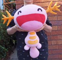 Shiny Wooper plush by scilk