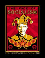 Obama:  The Face of Socialism by Conservatoons
