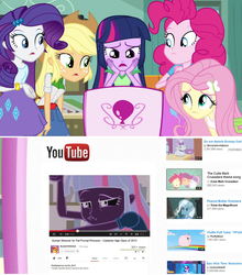 Twilight Watches Sunset Shimmer's YouTube Video by Ryan1942