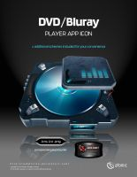 DVD-Bluray Player App Icon by submicron