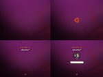 Ubuntu Boot And Log In Concept by soggybizkitlulz