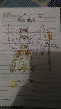 The Angelic Armor (Female) by Aikijoco