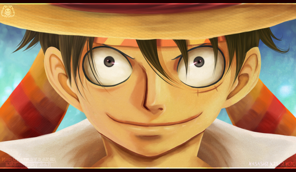 Luffy by NARUTO999-BY-ROKER