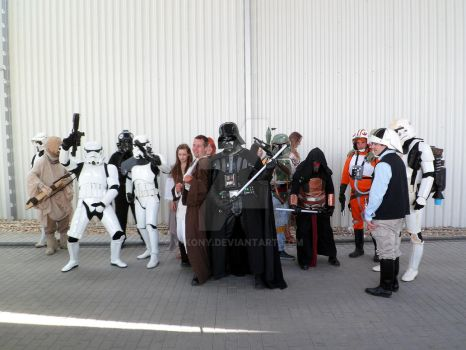 Star Wars versus Lord of the Rings characters 35 by V-kony