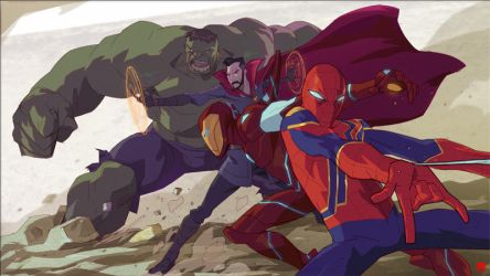 AVENGERS ARE INFINITE by CoranKizerStone