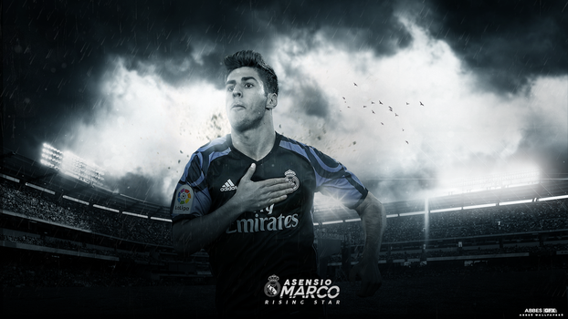 Marco Asensio Wallpaper 2016/17 by Abbes17