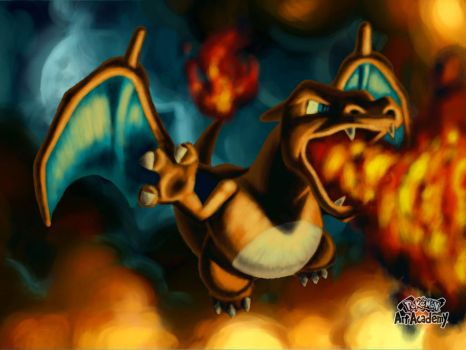 Pokemon Art Academy Graduate Course 3: Charizard by PkGam