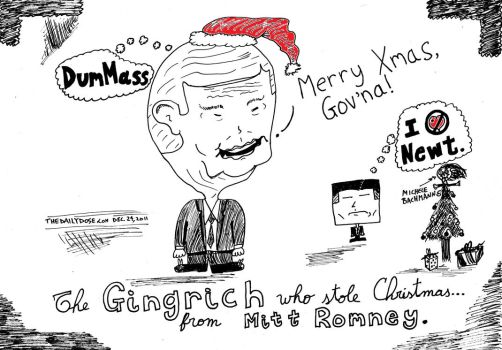 The Gingrinch Who Stole Christmas cartoon by amazingn3ss