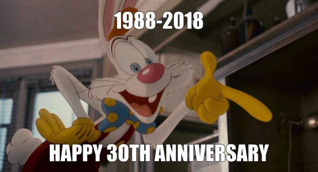 Happy 30th Anniversary Roger Rabbit! by Bart-Toons