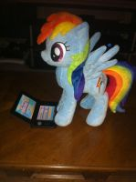 Rainbow Dash Playing 3DS XL by SullMaster