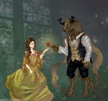 Beauty and the Beast by galazy