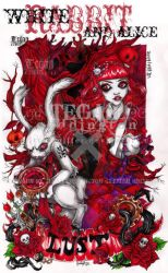 WhItExRaBbItxAlIcE LUST by glittersniffer