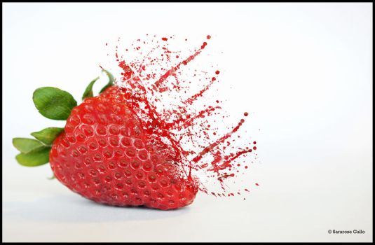 Fractured Strawberry by ScooterTheDog