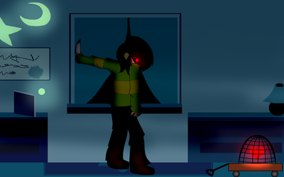 [D-R SPOILERS] u betta 'DeltaRune' for your liffe by LittleGalaxyGirl