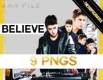 9 Justin Bieber's PNG Pack. BELIEVE. RAR. by TheSoophCaraveo