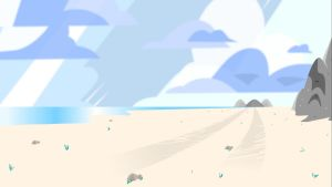 The Beach from steven universe by fhilslife