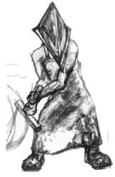 Silent Hill: Pyramid Head by Un-Touchable