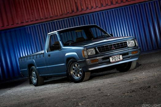 1990 Mitsubishi L200 - 4 by Jason-Gordon