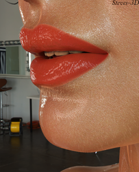 Lips by Steves-3D