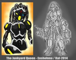 The Junkyard Queen - August 2012 by Enshohma