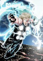 Thor - colored by Botonet