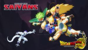 Rise of the Saiyans! by DBSpriteFight