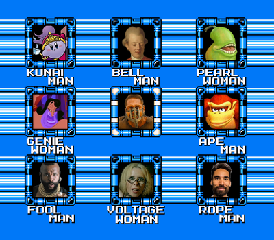 New MMM Select Screen by hfbn2